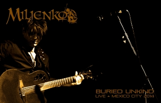 "MILJENKO ""Buried Unkind"" Live Acoustic In Mexico City 2014"